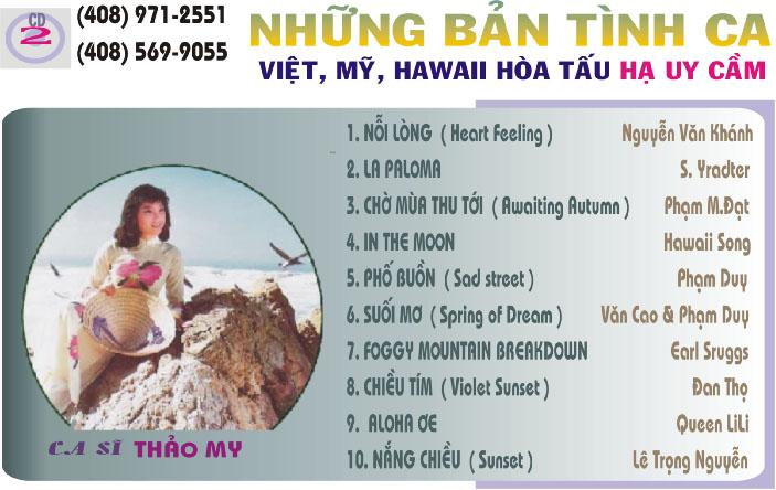 CD2: Những bản tình ca Việt Mỹ Hawaii