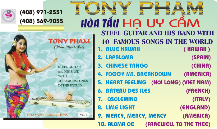 CD9: Tony Phạm